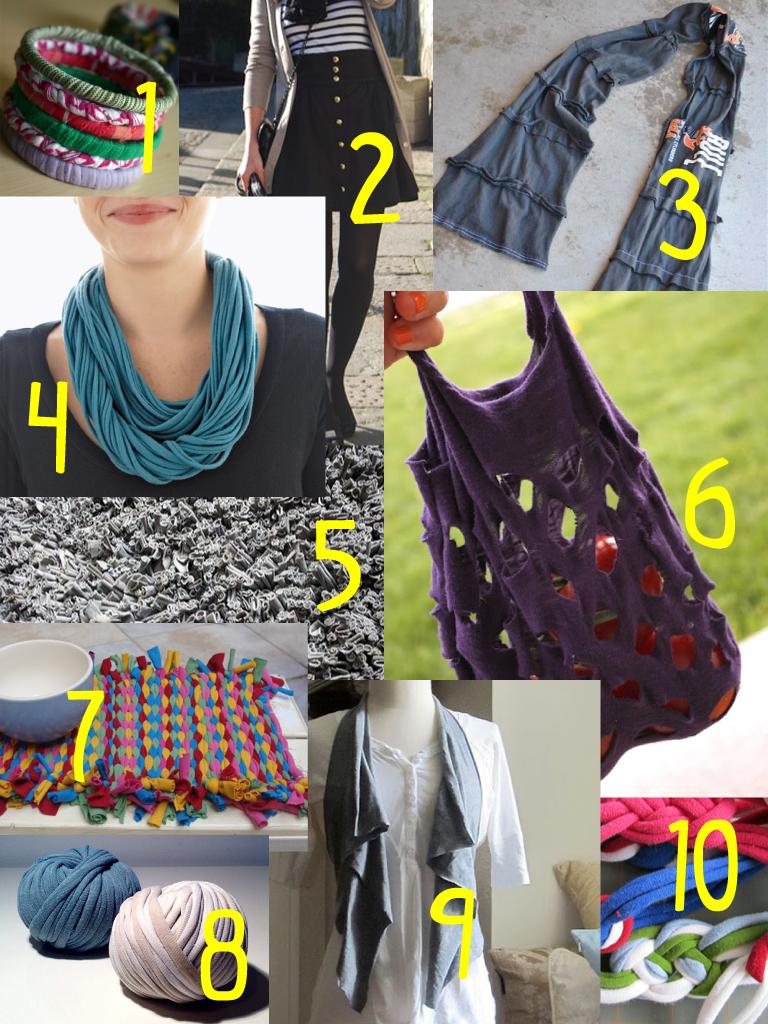 10 Ways To Reuse An Old T Shirt Shutterhedge